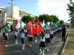 Contingente de Movimientos ritmicos, Banderas