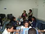 Maestra de Grupo de 5A Luz Evelia Bojórquez Mercado y Supervisora Escolar 105 Profra. Dora Luz García Salazar